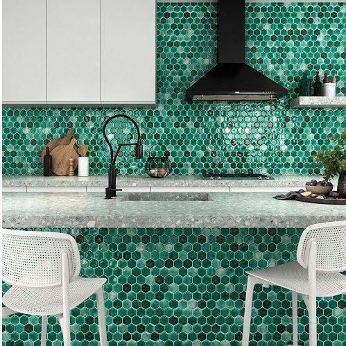 artemis-leaf-green-hexagonal-mosaic-tile